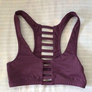Victoria's Secret PINK XS purple sorts bra